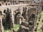 Colosseum - catacombele