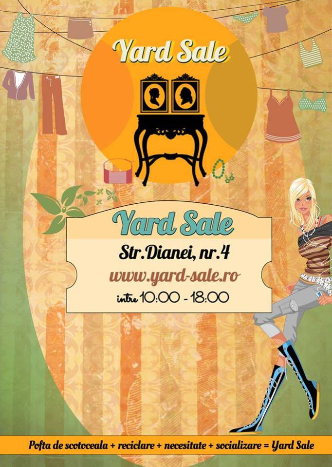Yard Sale 12&13 aprilie
